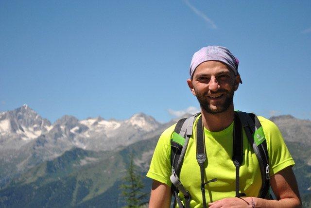 tomaso michelotti in montagna